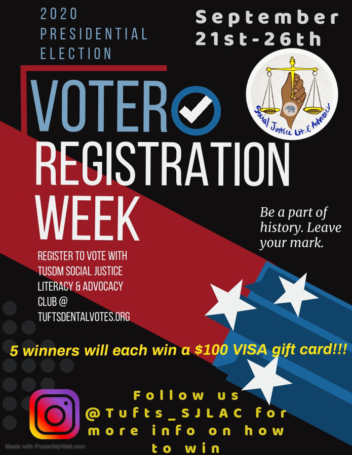 Annual Voter Registration Week Drive @ Instagram