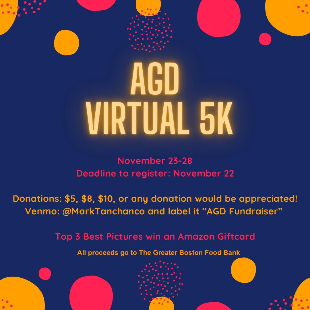 AGD: Virtual 5K! @ Virtual