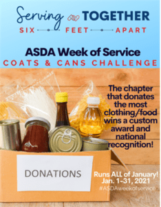 National ASDA Week of Service